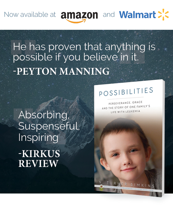 Possibilities Book by Turner Simkins | Now available at Amazon.com and Walmart